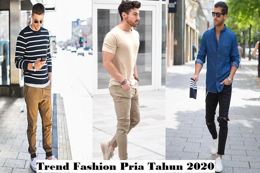 Trend Fashion Pria Tahun 2020